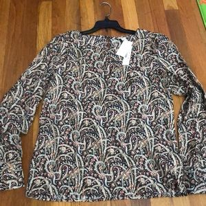 J. Crew beautiful silk blouse NWT